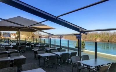Gasthof zum Anker in Mumpf ist gerüstet: Neue Terrasse, neue Öffnungszeiten und viel Flair